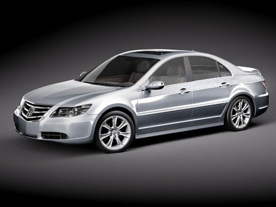Honda Legend royalty-free 3d model - Preview no. 13