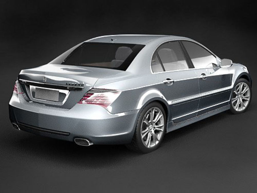 Honda Legend royalty-free 3d model - Preview no. 11