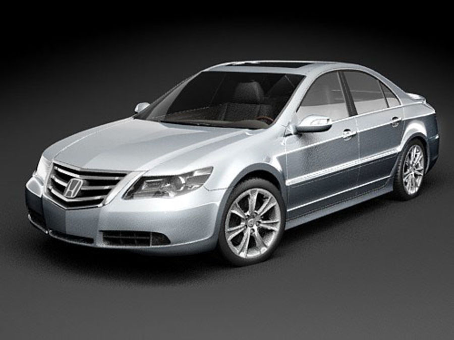 Honda Legend royalty-free 3d model - Preview no. 12