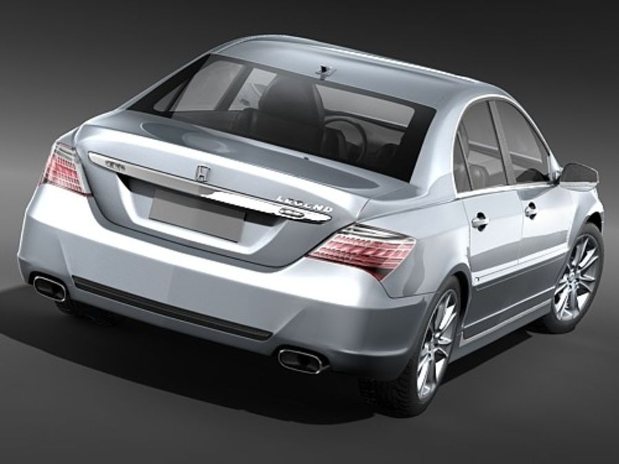 Honda Legend royalty-free 3d model - Preview no. 7