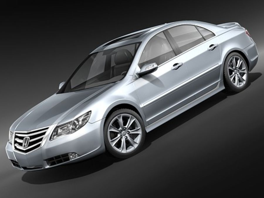 Honda Legend royalty-free 3d model - Preview no. 1