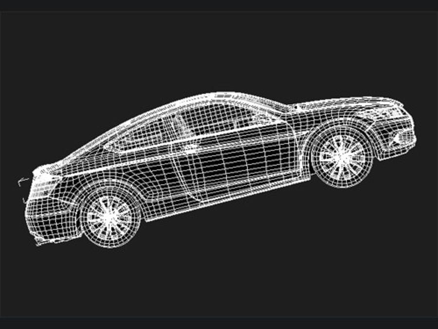 혼다 어코드 쿠페 midpoly royalty-free 3d model - Preview no. 7