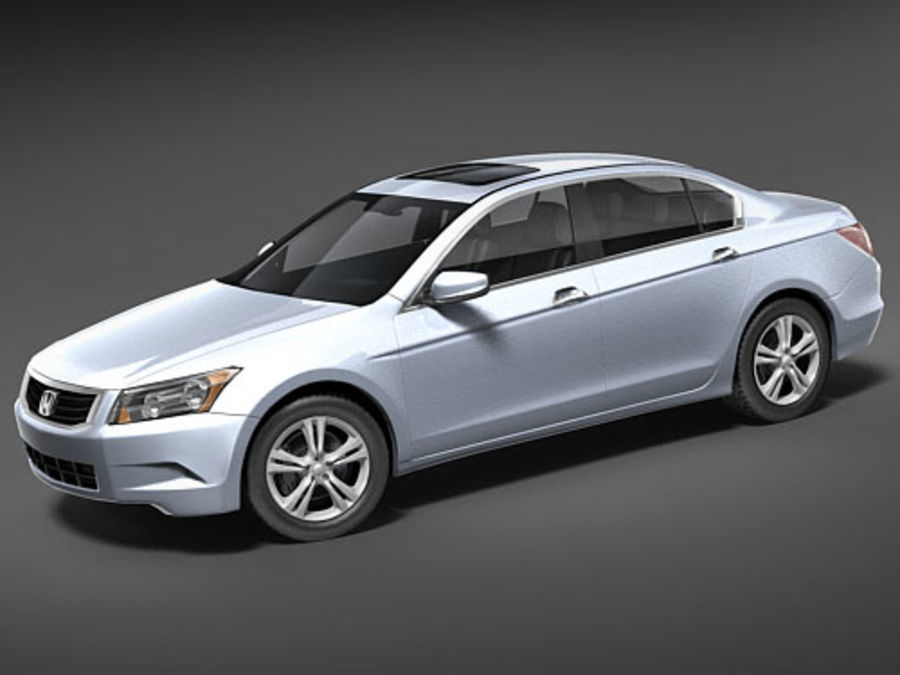 Honda Accord USA royalty-free 3d model - Preview no. 1