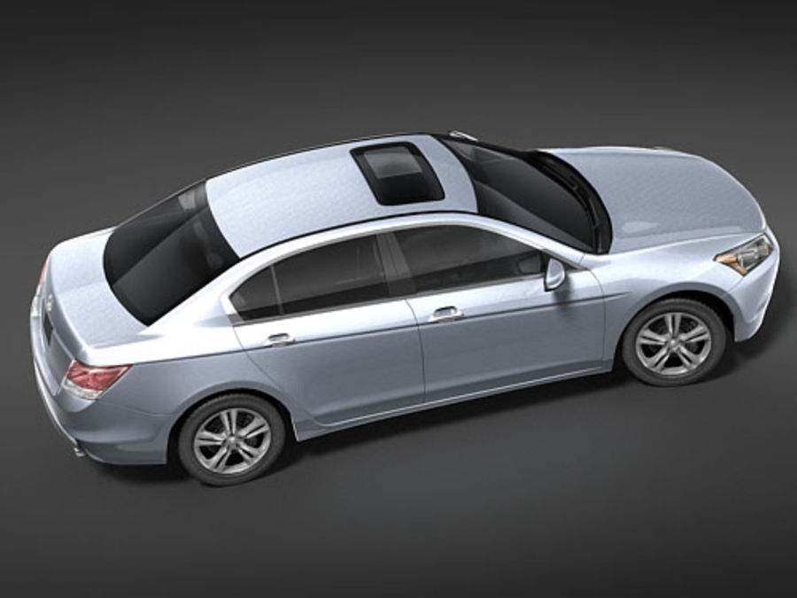 Honda Accord USA royalty-free 3d model - Preview no. 7
