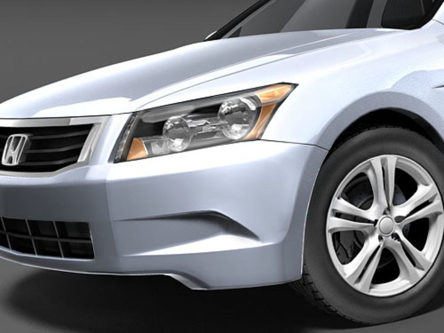 Honda Accord USA royalty-free 3d model - Preview no. 3