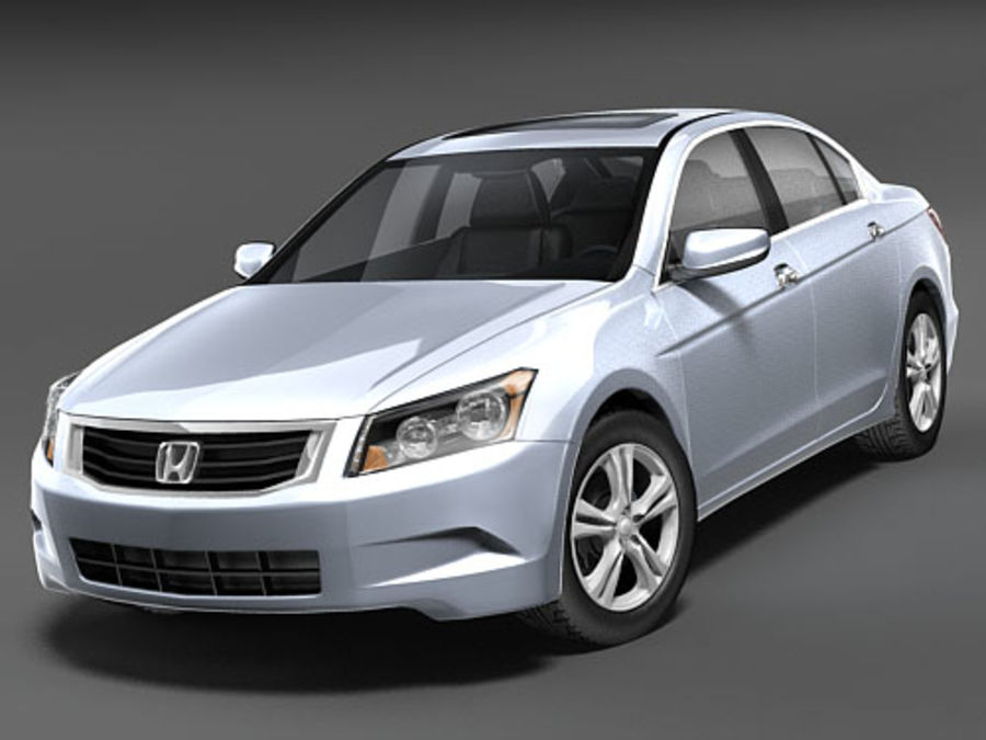 Honda Accord USA royalty-free 3d model - Preview no. 2