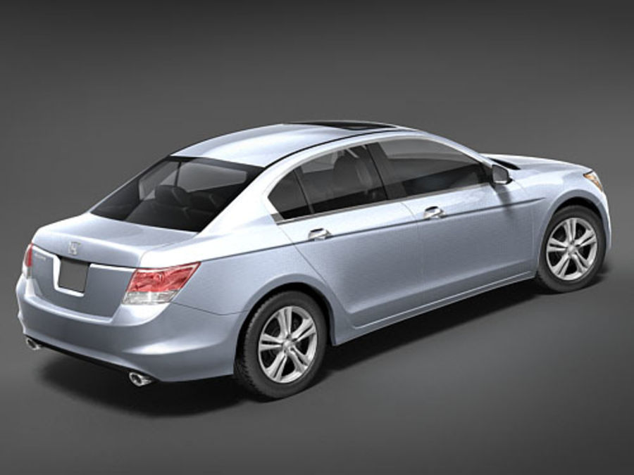 Honda Accord USA royalty-free 3d model - Preview no. 5