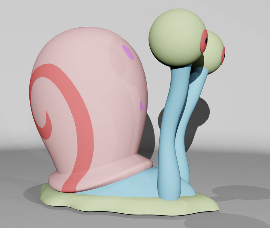 Gary royalty-free 3d model - Preview no. 4