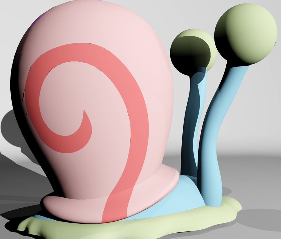 Gary royalty-free 3d model - Preview no. 7