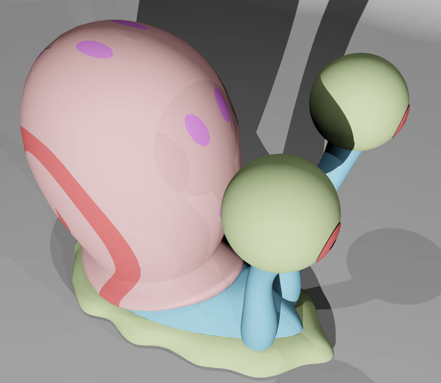 Gary royalty-free 3d model - Preview no. 5
