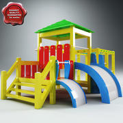 Playground V2 3d model