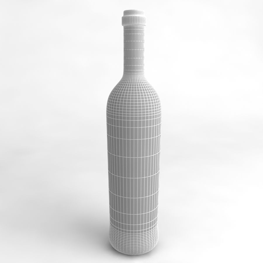 Wine Bottle Collection royalty-free 3d model - Preview no. 32