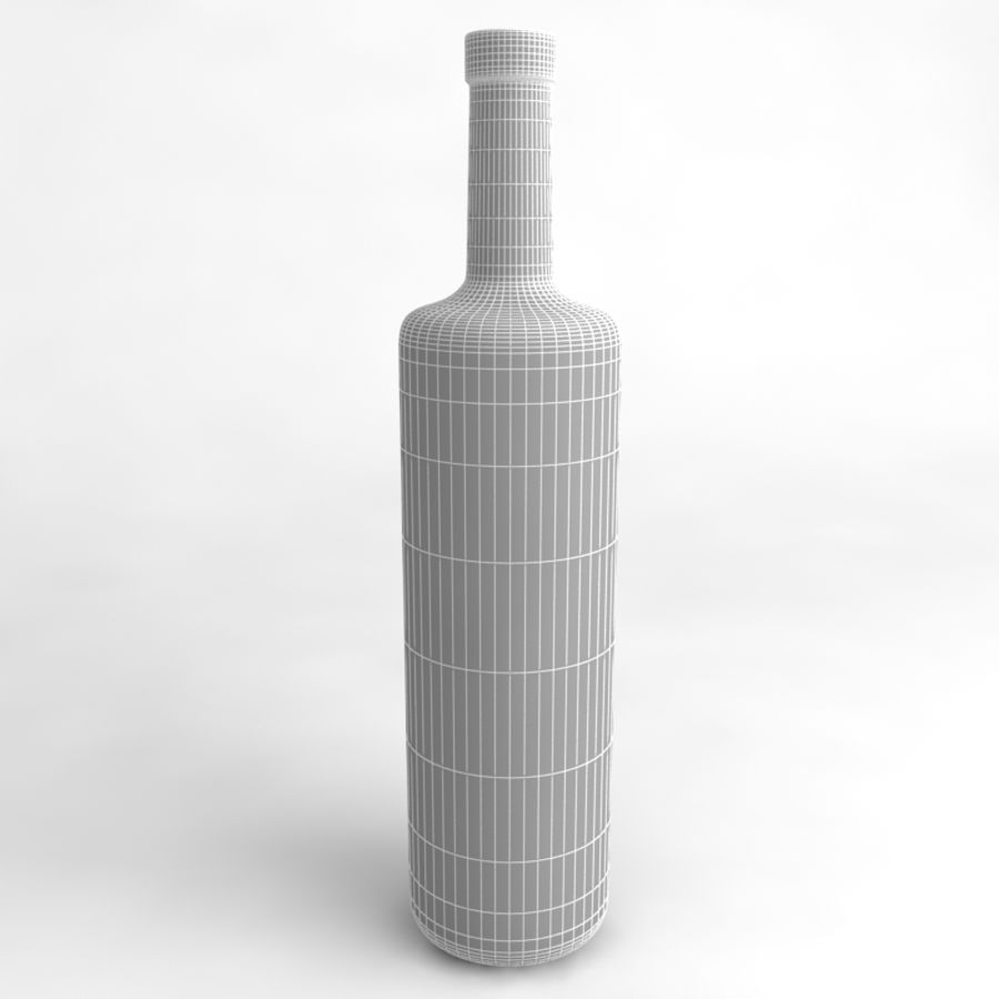 Wine Bottle Collection royalty-free 3d model - Preview no. 29
