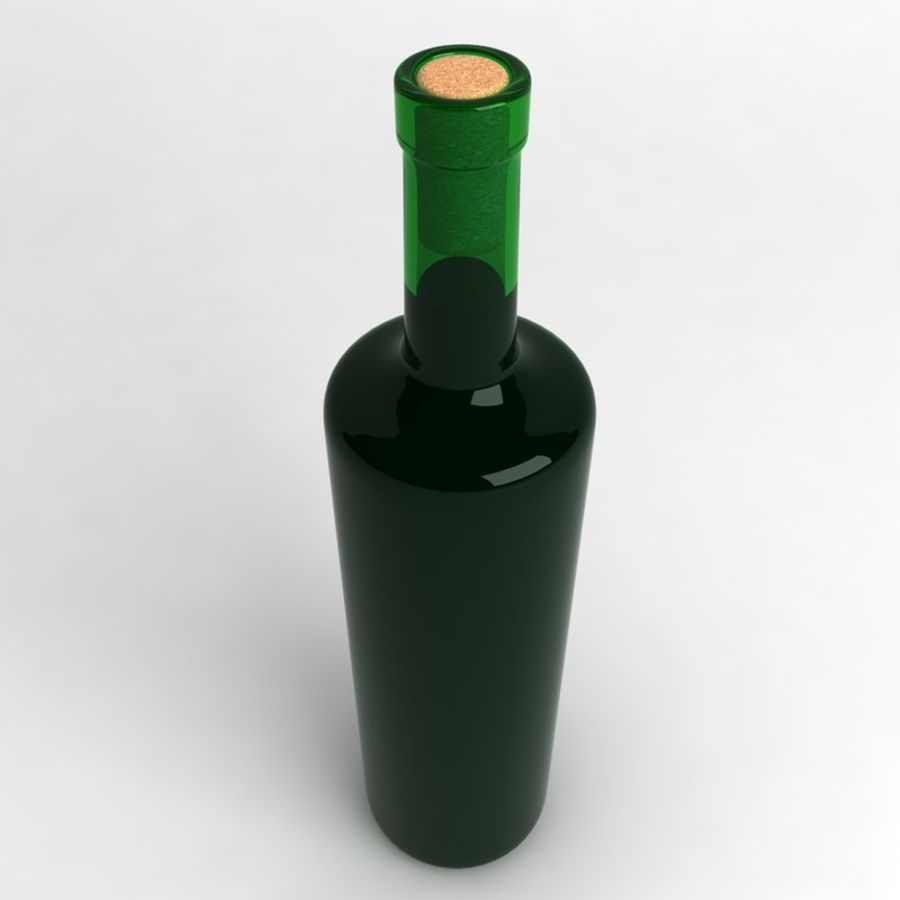Wine Bottle Collection royalty-free 3d model - Preview no. 12
