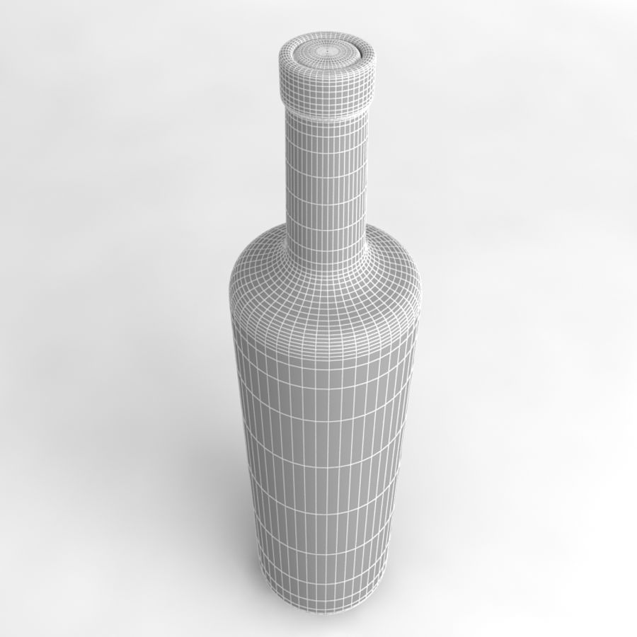 Wine Bottle Collection royalty-free 3d model - Preview no. 30