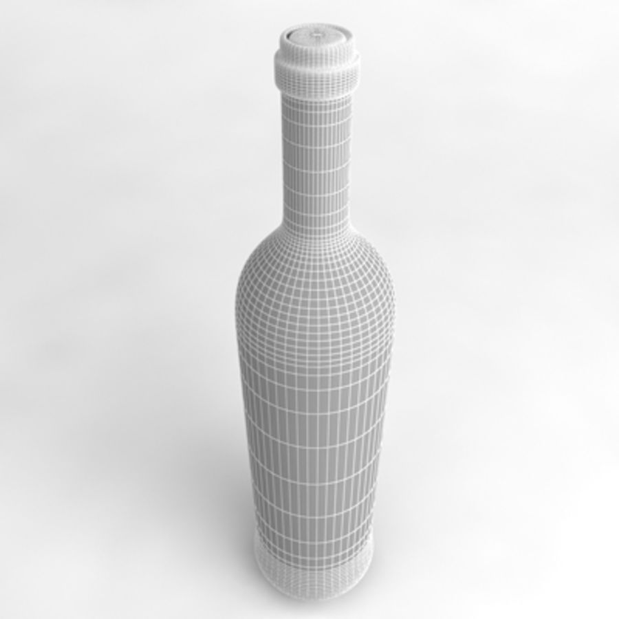 Wine Bottle_05 royalty-free 3d model - Preview no. 5
