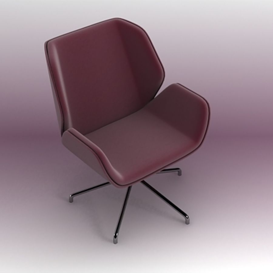 3D chair 007 royalty-free 3d model - Preview no. 2