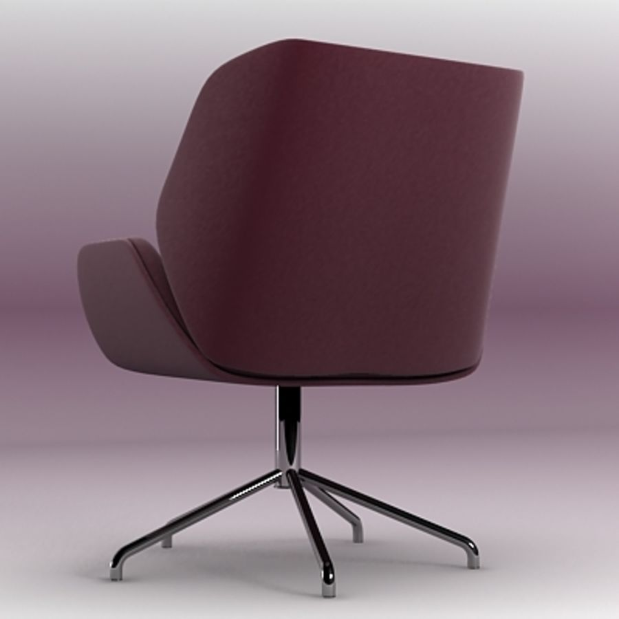 3D chair 007 royalty-free 3d model - Preview no. 3
