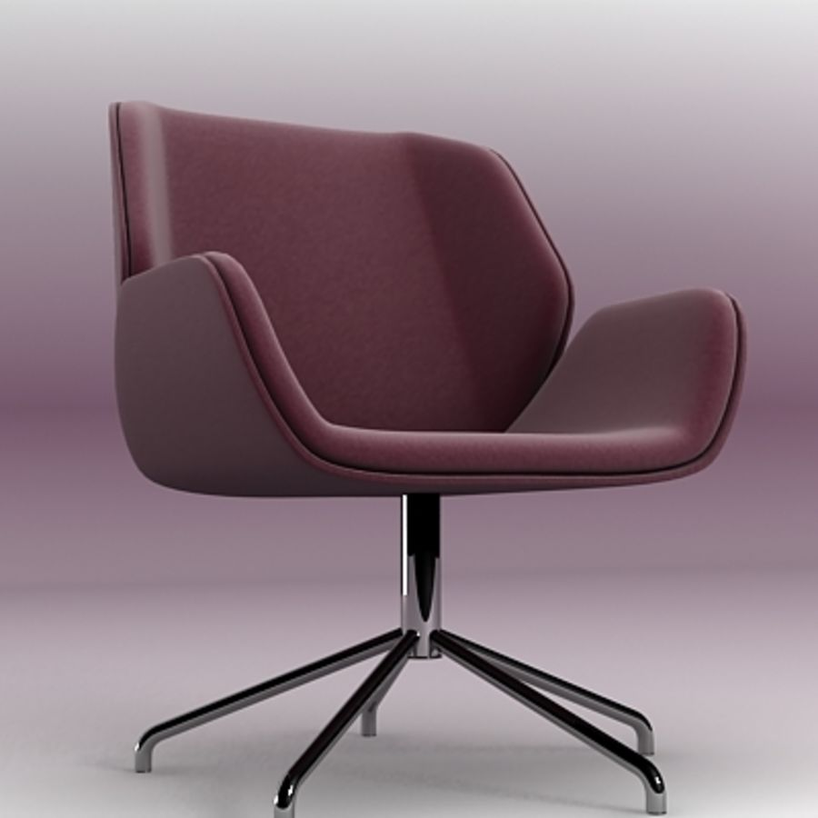 3D chair 007 royalty-free 3d model - Preview no. 1