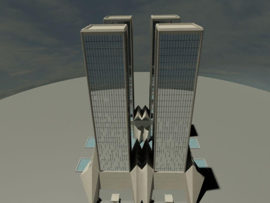 タワー royalty-free 3d model - Preview no. 4