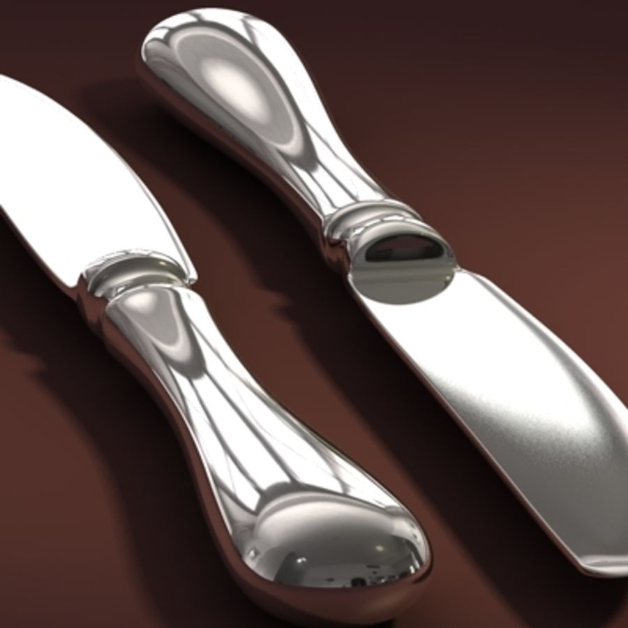 Knife hi royalty-free 3d model - Preview no. 2