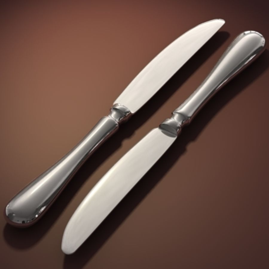 Knife hi royalty-free 3d model - Preview no. 1