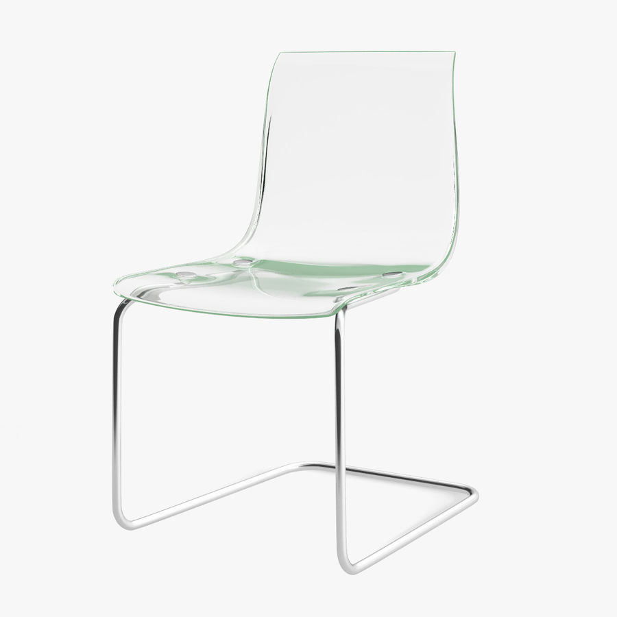 IKEA Tobias Chair Royalty Free 3d Model   Preview No. 1