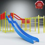 Playground V4 3d model