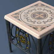 Table 103 Ironwork 3d model