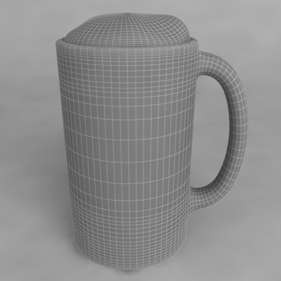 Beer Glass_11 royalty-free 3d model - Preview no. 4