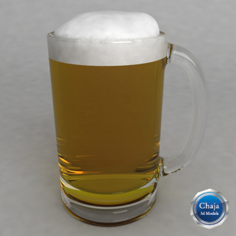 Beer Glass_11 royalty-free 3d model - Preview no. 1