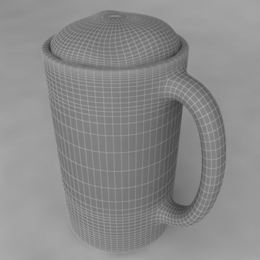 Beer Glass_11 royalty-free 3d model - Preview no. 6