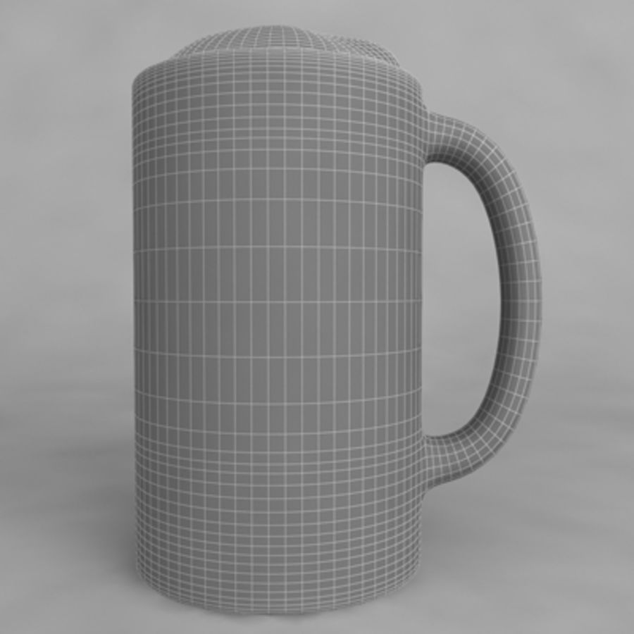 Beer Glass_11 royalty-free 3d model - Preview no. 5