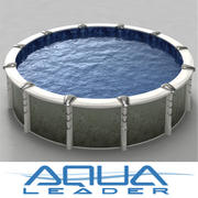 Above ground pool Creation 18inch 3d model