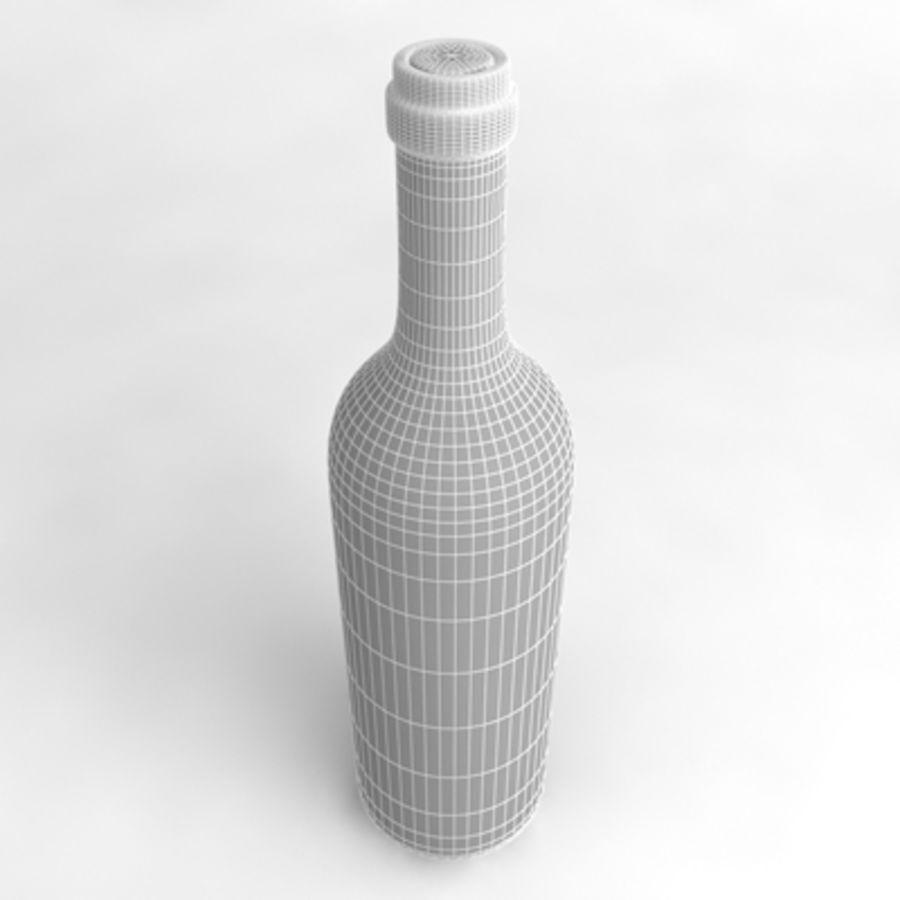Vinflaska_02 royalty-free 3d model - Preview no. 5