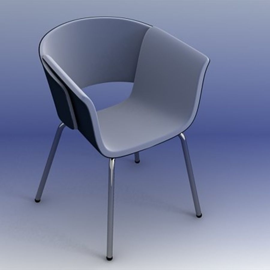 3D Chair 008 royalty-free 3d model - Preview no. 1