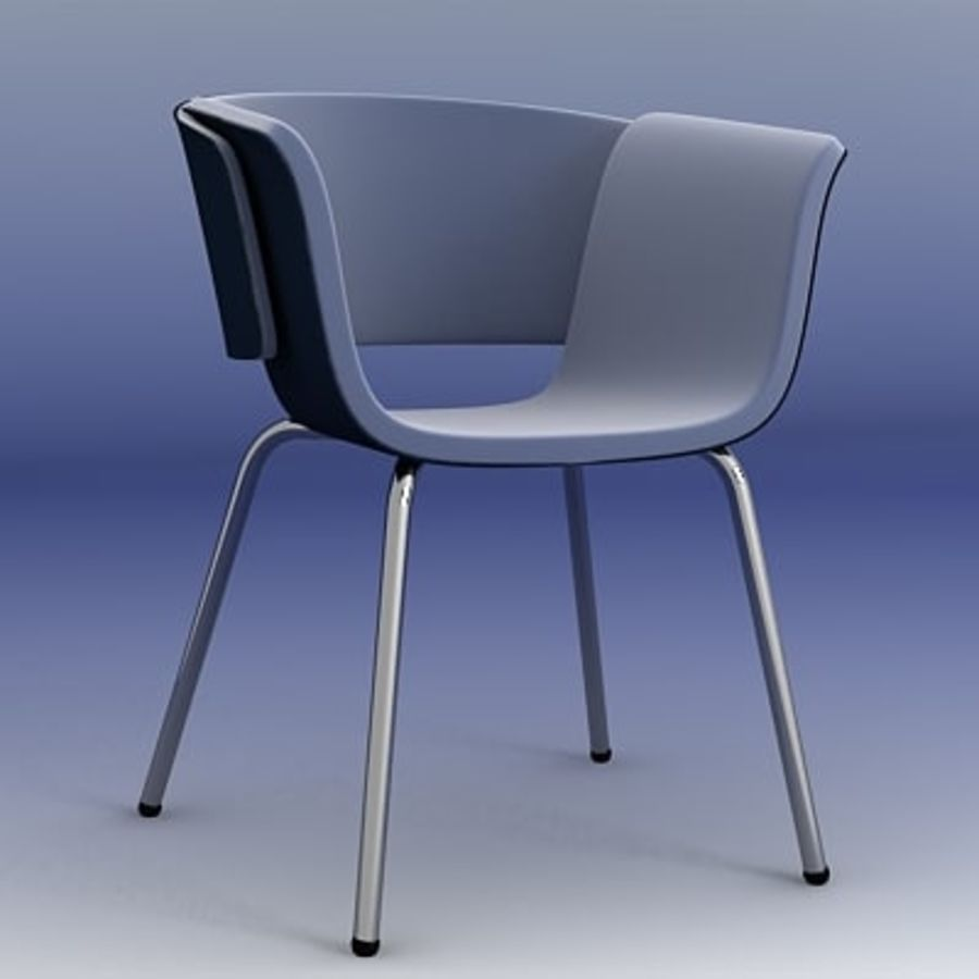 3D Chair 008 royalty-free 3d model - Preview no. 2