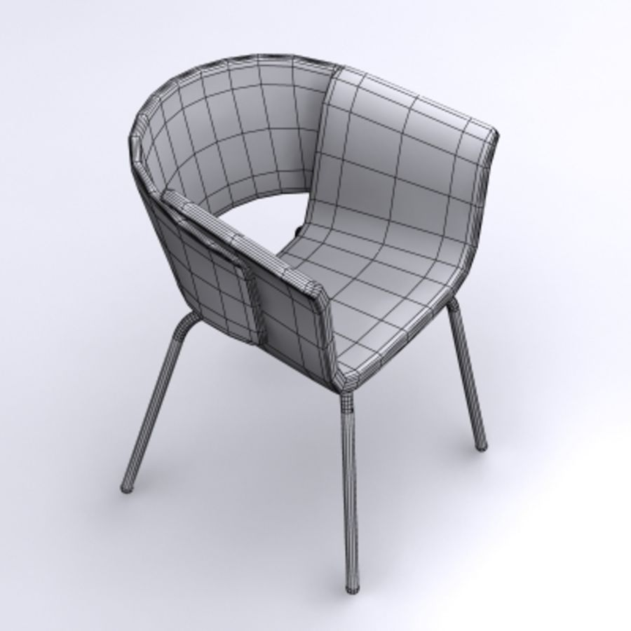 3D Chair 008 royalty-free 3d model - Preview no. 3