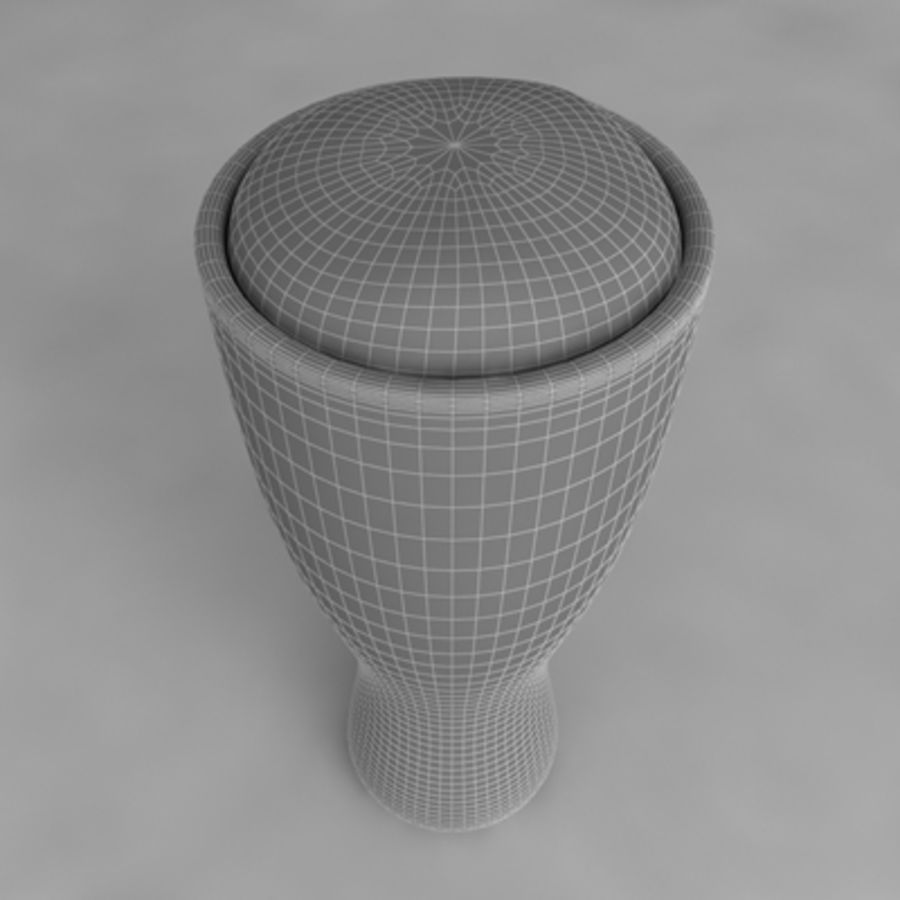 Ölglas_05 royalty-free 3d model - Preview no. 6
