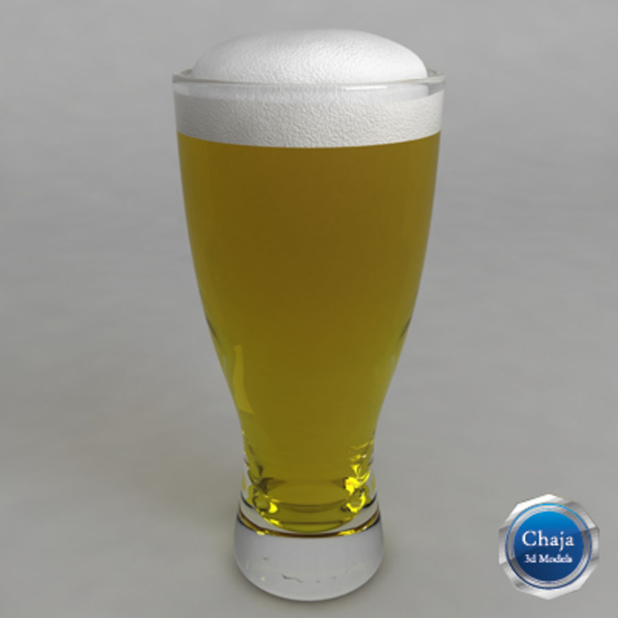 Ölglas_05 royalty-free 3d model - Preview no. 1