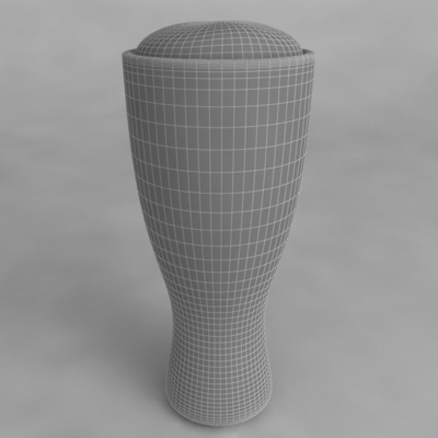 Ölglas_05 royalty-free 3d model - Preview no. 4