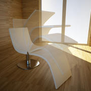 Chaise longue Dragonfly de Bonaldo, design Karim Rashid 3d model