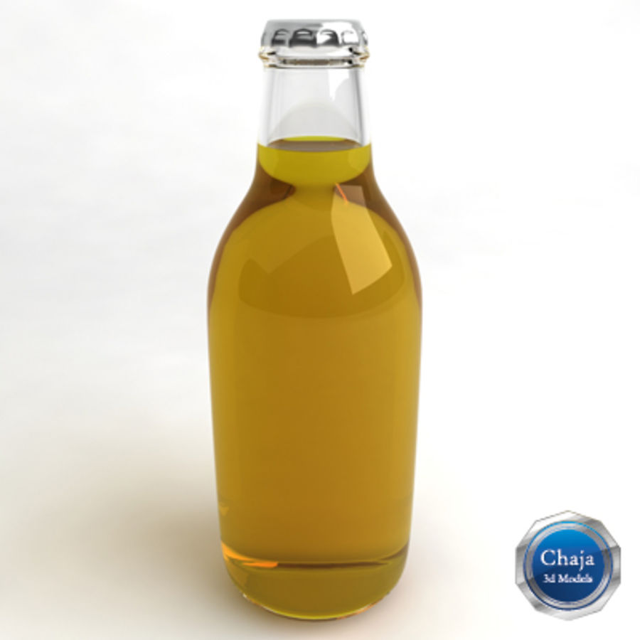 Beer Bottle 6 royalty-free 3d model - Preview no. 1