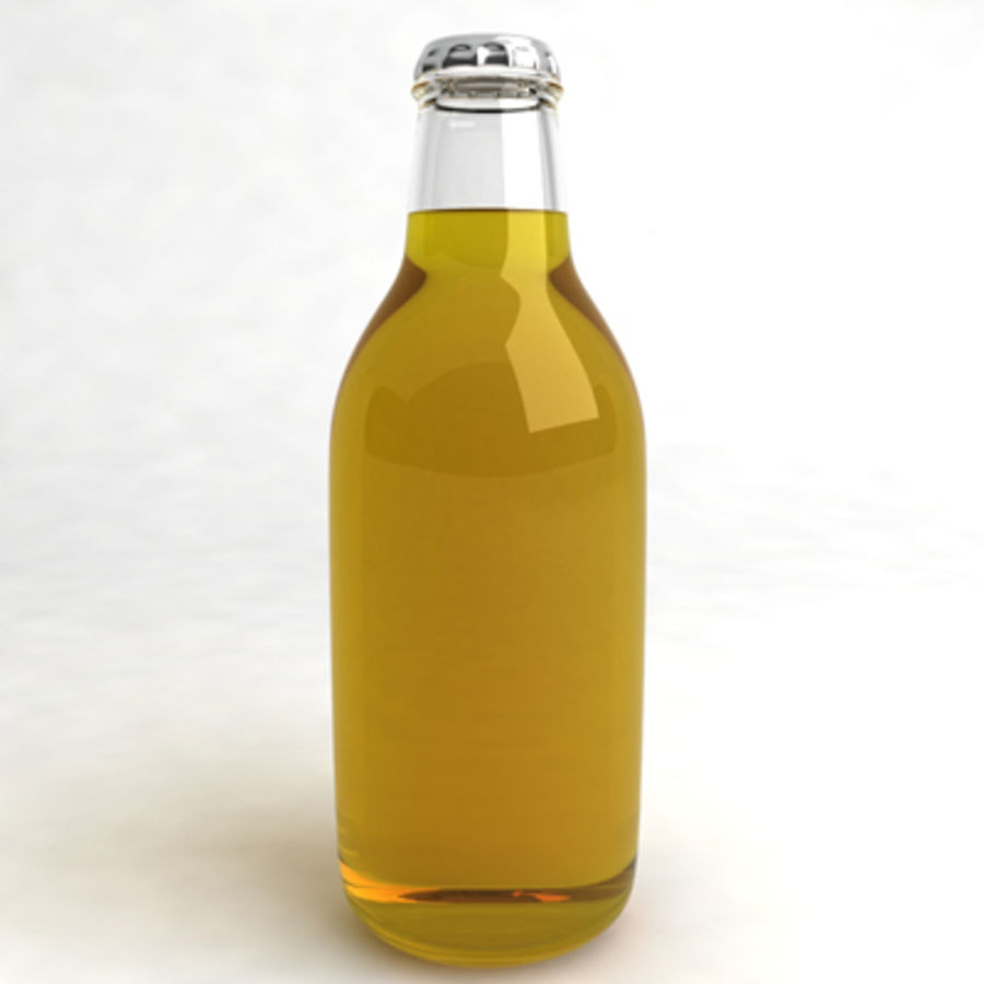 Beer Bottle 6 royalty-free 3d model - Preview no. 2