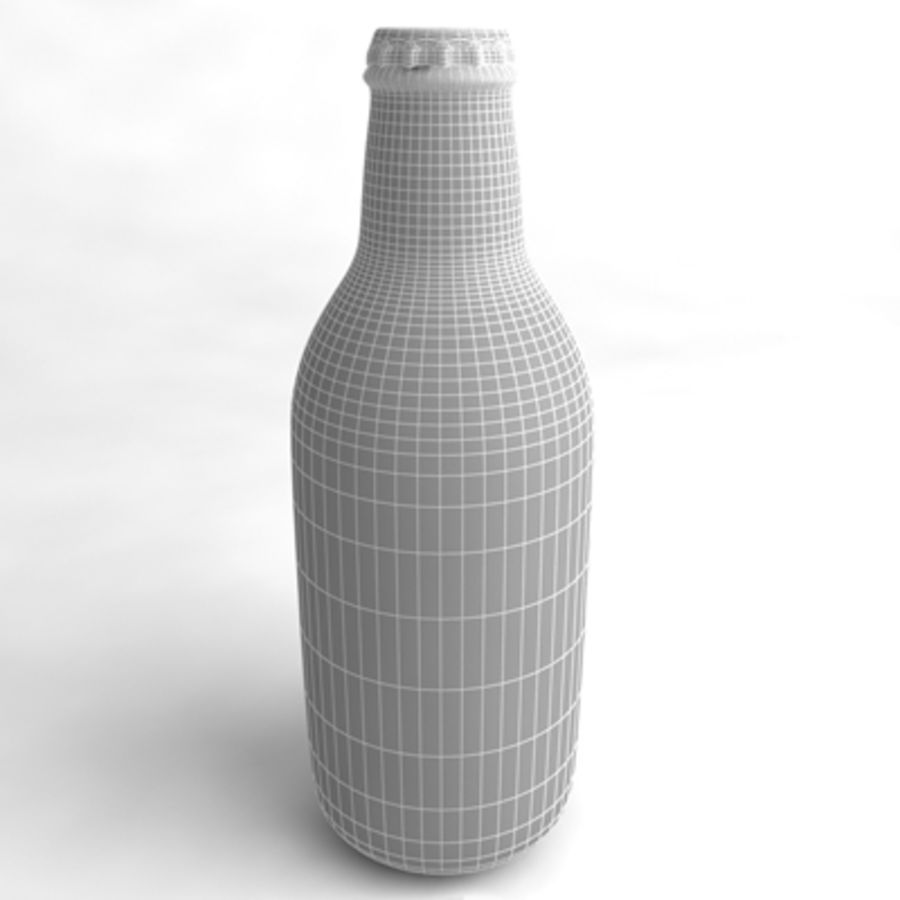 Beer Bottle 6 royalty-free 3d model - Preview no. 4