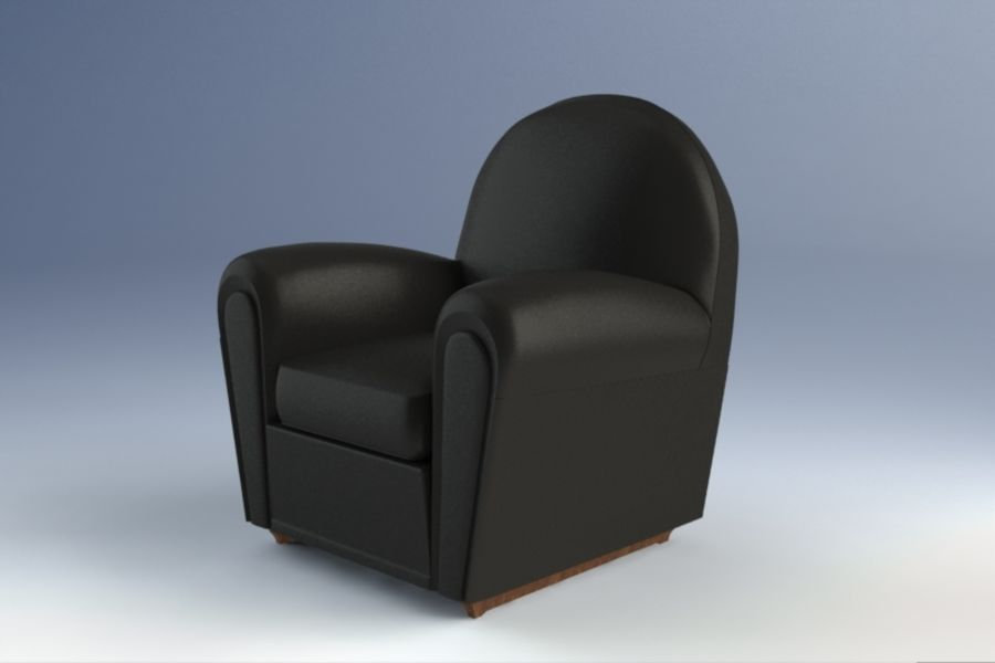 Poltrona Frau Vanity Fair Armchair 3D Model $10 - .lxo .max .fbx ...