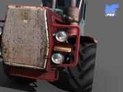 Kirovets K701 Russian Tractor 3d model