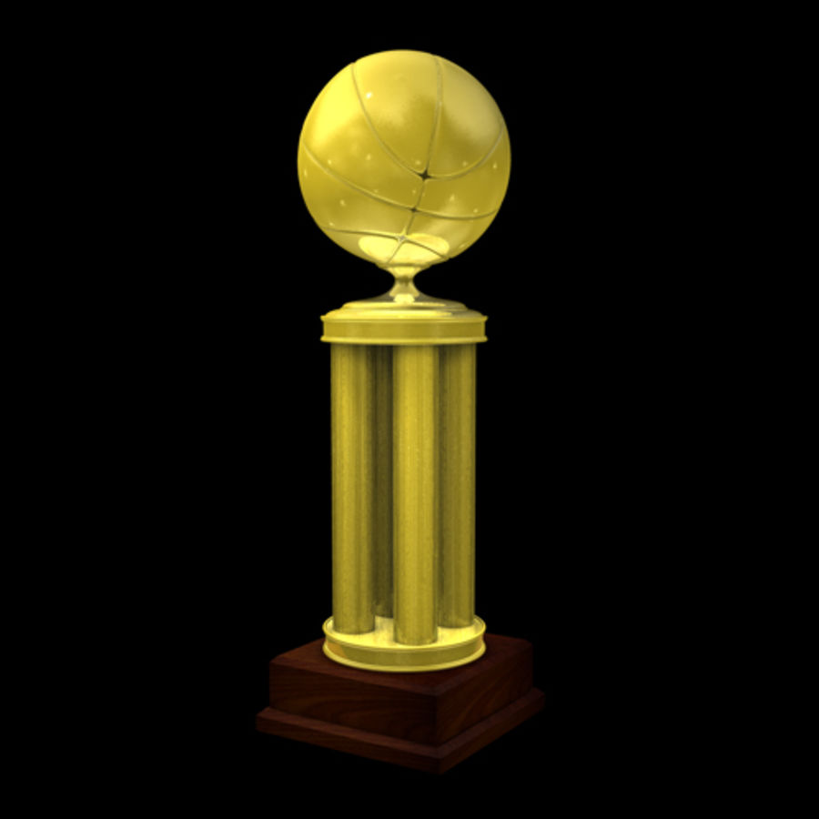 Basketball Trophy royalty-free 3d model - Preview no. 1