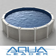 Above ground pool Reflection 3d model