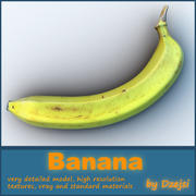 Banaan 3d model